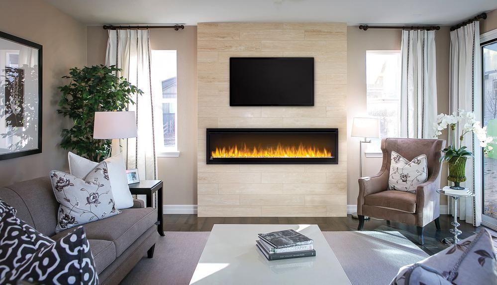 Napoleon Alluravision Slimline Built In Wall Mounted Electric Fireplace Wall Mount Electric Fireplace Electric Fireplace Fireplace