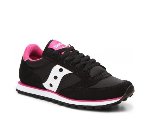 quality design 44c4a defeb Women's Saucony Jazz Low Pro Retro Sneaker - - Black/Pink ...