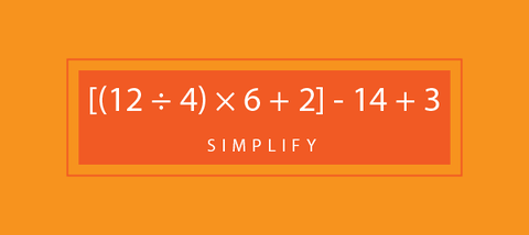 Test your math skills and solve this order of operations problem! To check your answer head to our website.
