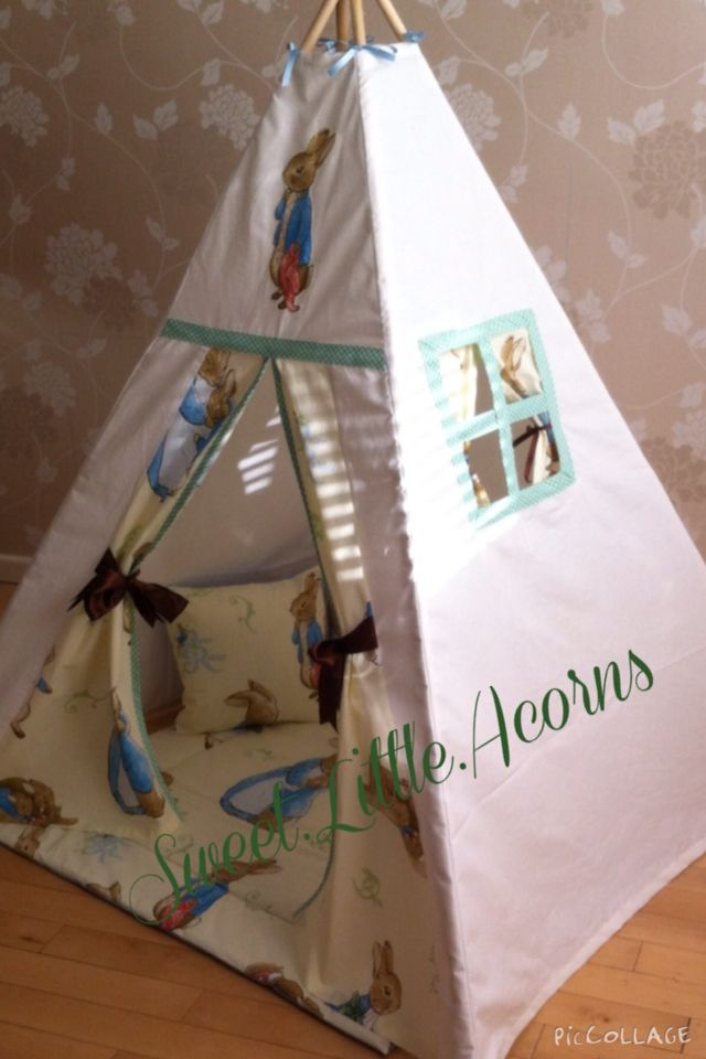 Love my teepee uku0027s leading handmade bespoke and personalised childrens teepee tents. Toys cushions play mats for boys and girls. & Peter rabbit magical teepee | Peekaboo Teepees 0 - 12 | Pinterest ...