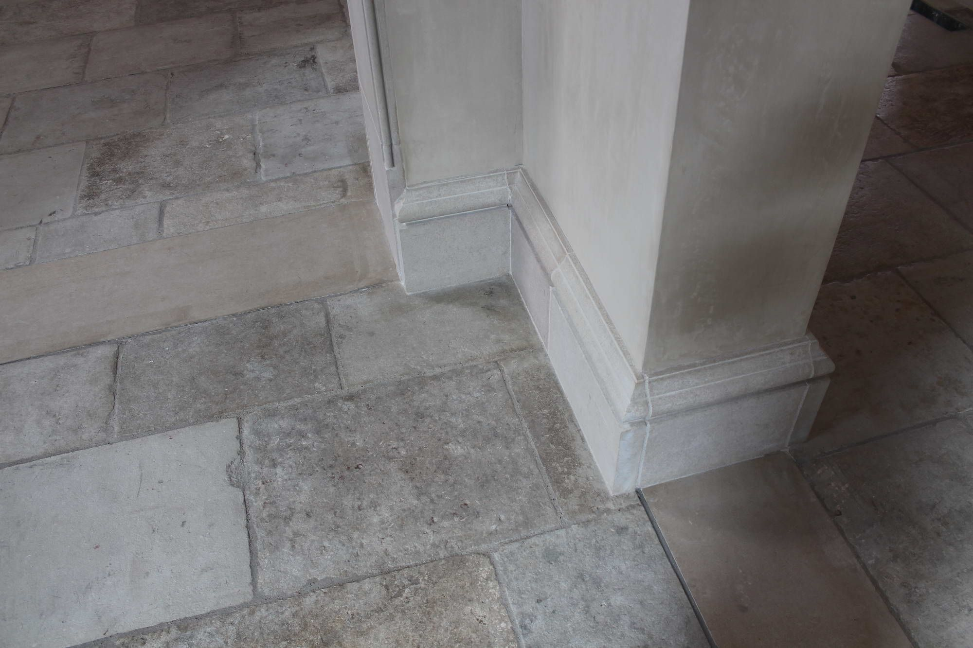 Antique barr gris u reclaimed french limestone slabs in their most