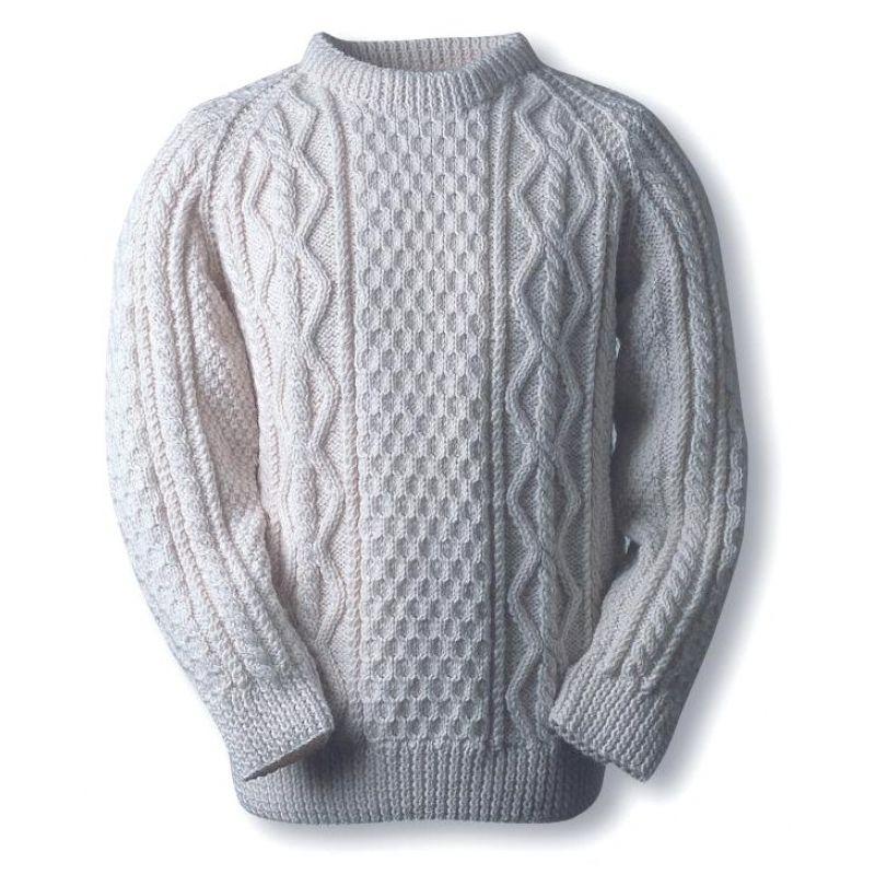 Quinn family fisherman\'s sweater | beige | Pinterest | Para hombres ...
