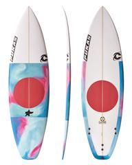 PUKAS - THE GAME SURFBOARD - RED on http://www.surfstitch.com