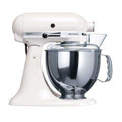 White Kitchenaid Artisan Mixer | Kitchenaid artisan mixer ...