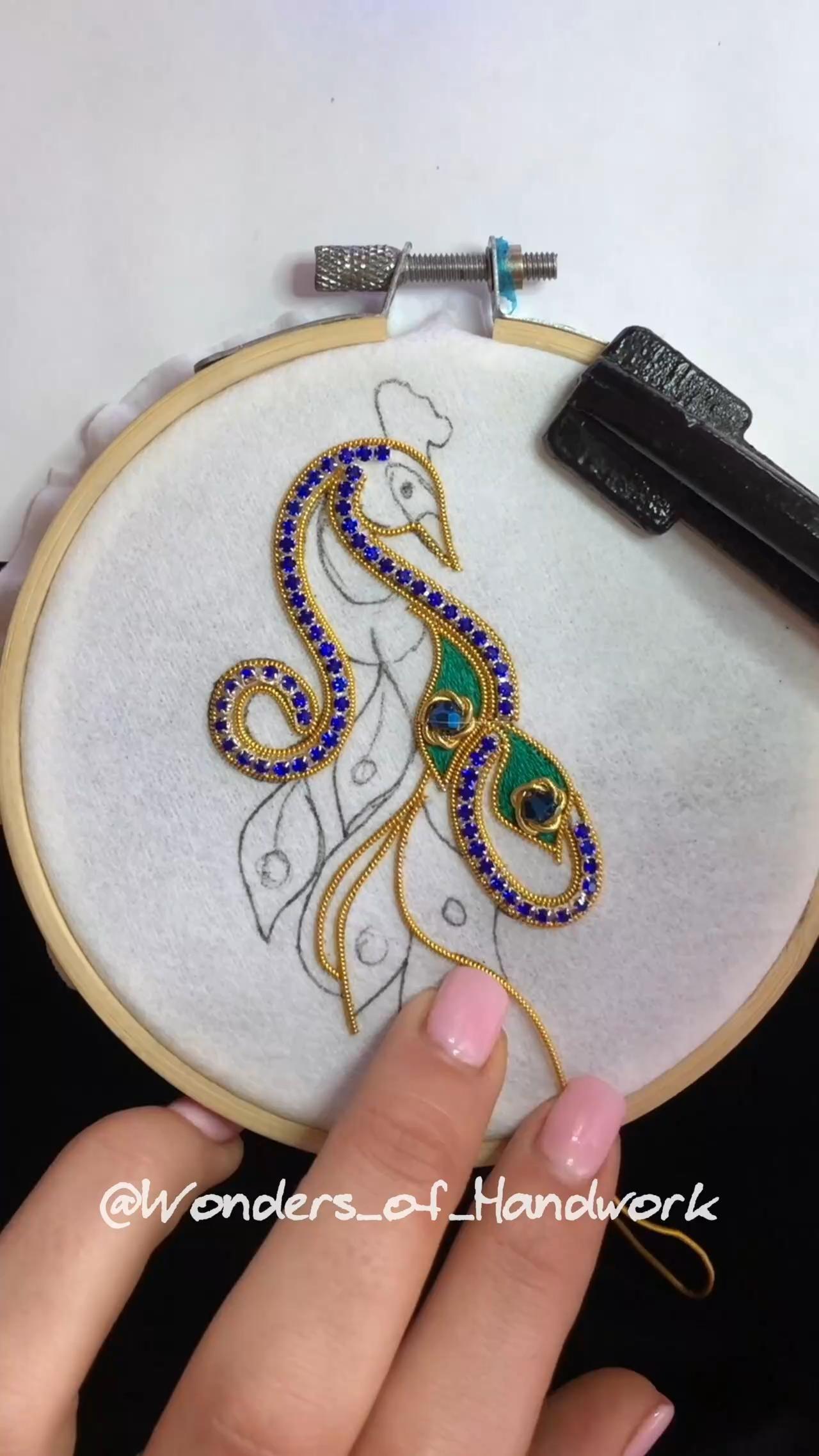 AINIA embroidery DIY
