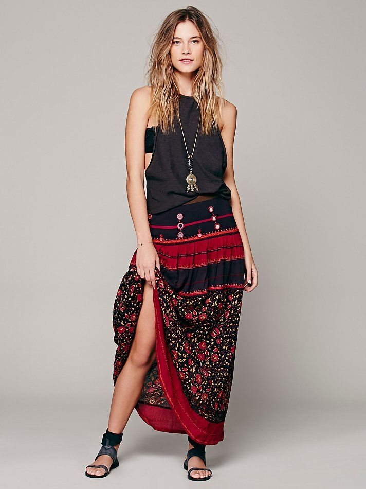 Free People Love Reflection Skirt,