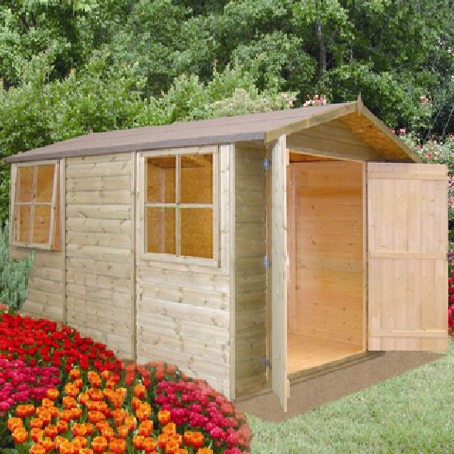 The 10u0027 X 7u0027 (approx) Guernsey Apex Garden Shed Is Not Just