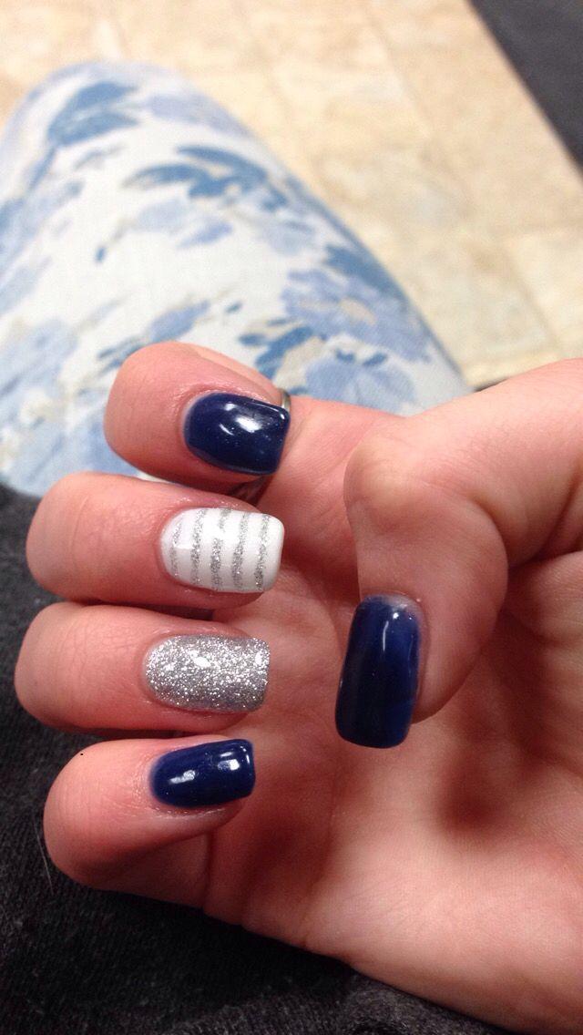 January nails   Nails   Pinterest   January, Winter nails and Nail nail