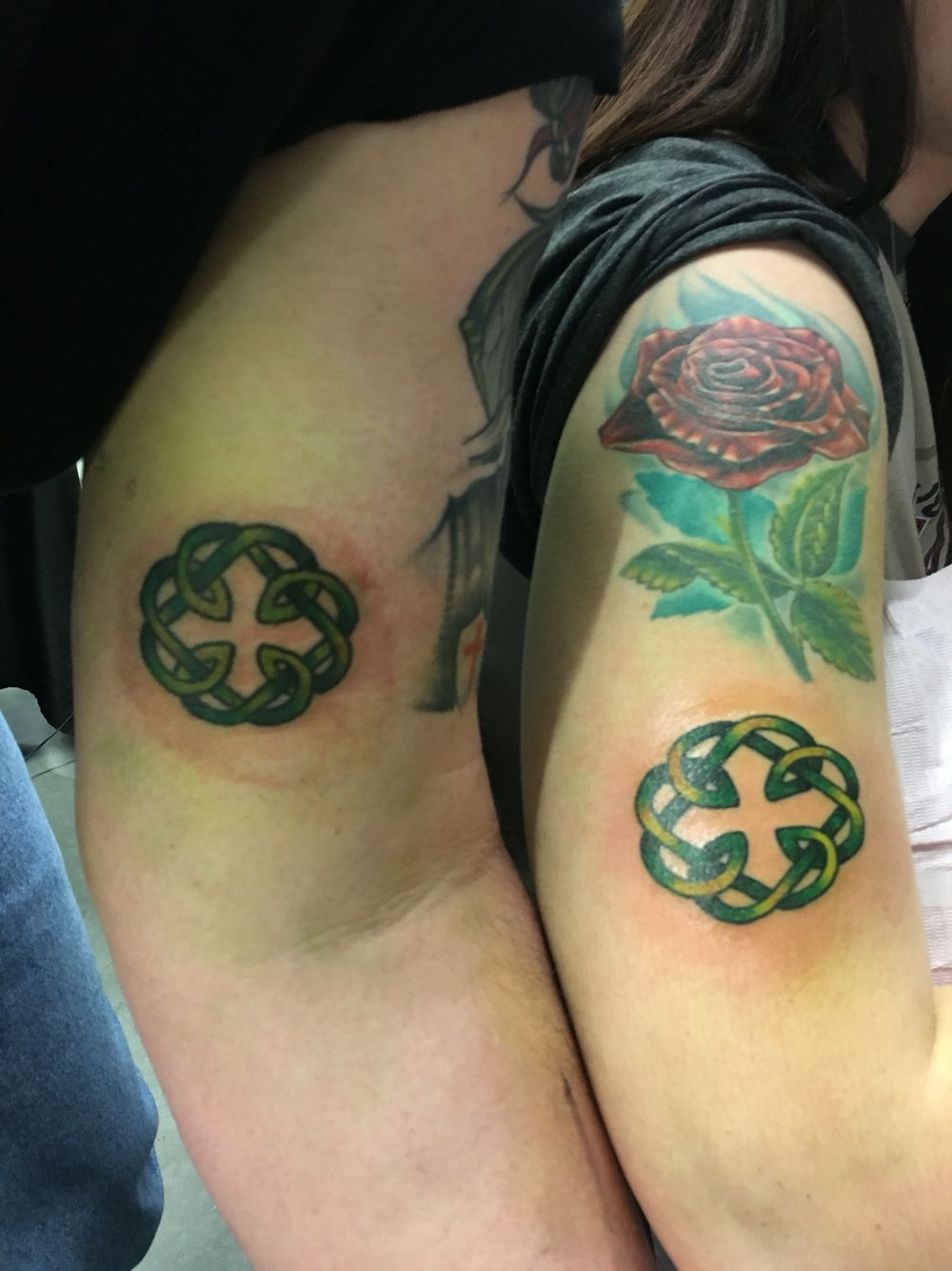 Celtic Daddy Daughter Tattoos For Dads