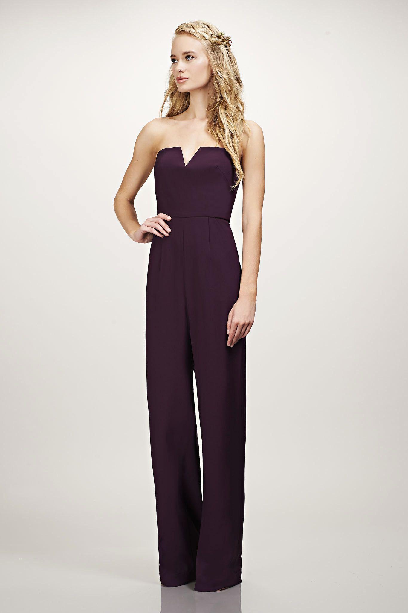 9dc6f776e395 15 Chic Bridesmaid Jumpsuits | Marriage. | Bridesmaid dresses ...