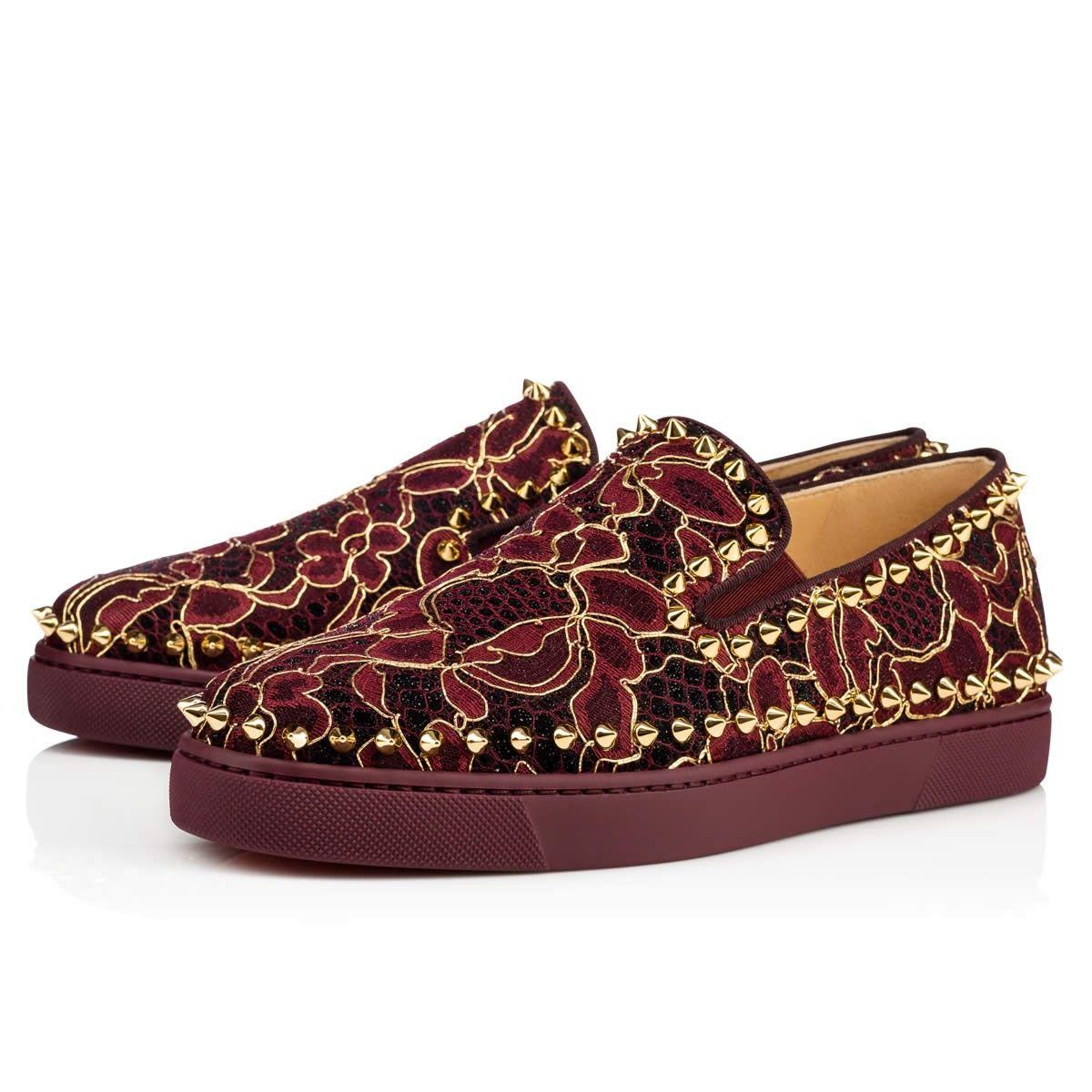 85c6f2b9610 Women Shoes - Pik Boat Woman Flat Vv/dentelle Fil Dor/gg Dentelle ...