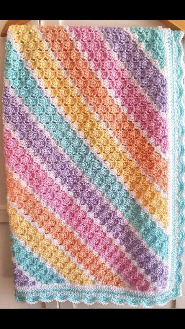 Baby Corner To Corner C2c Afghans Baby Blanket Crochet Crochet