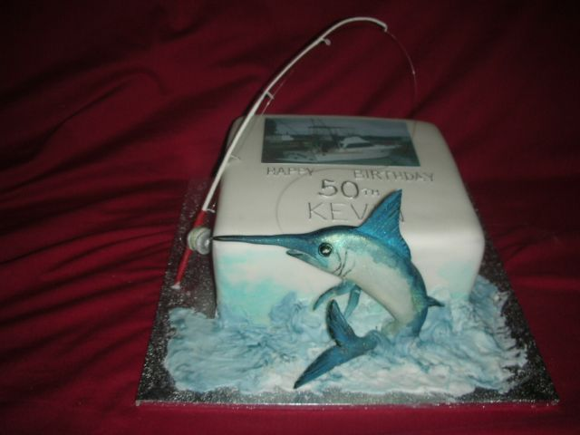 Fisherman Cake Ideas Birthday Fishing Cake Cake decorating