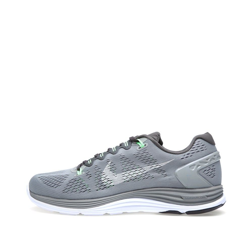 the best attitude 910ad c4fec Nike Lunarglide +5 (Wolf Grey   Sonic Yellow) Zapatillas De Deporte Aire Max