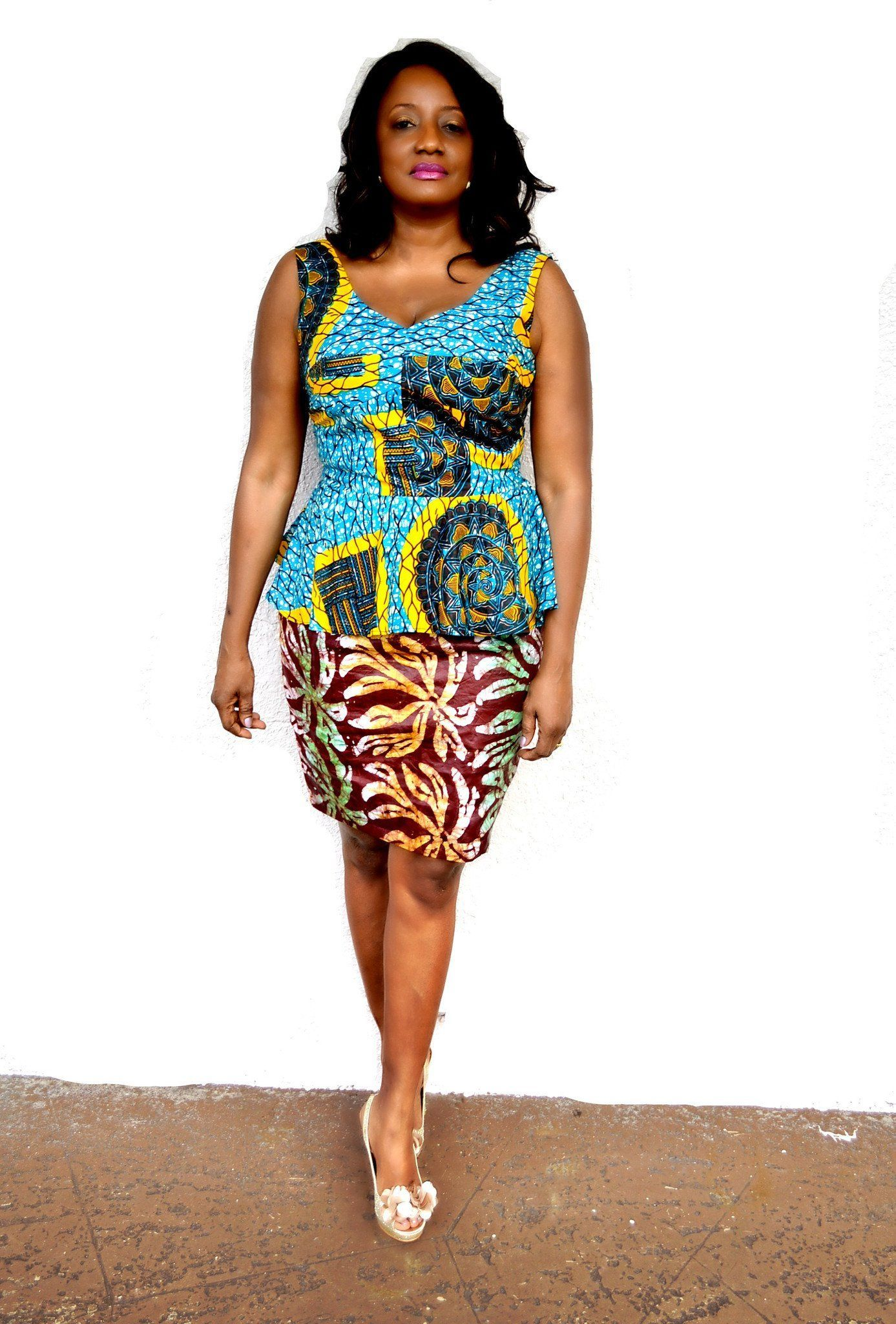 008c1043c79 Put on some Ankara and show it more respect. Give scary parts some  sunlight.Sure! The excuses have truly run out  rock these plus-size short  Ankara dresses