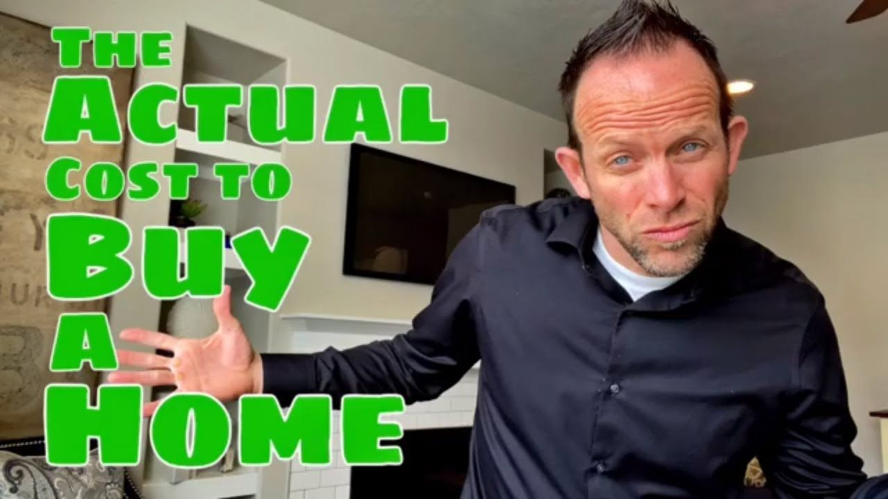 The Actual Cost To Buy A Home How To Buy A Home Tips For First
