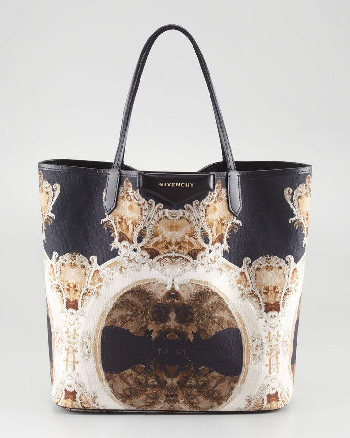 5846a91f60 Givenchy Antigona Church-Print Shopper. I ll take you to church any day.