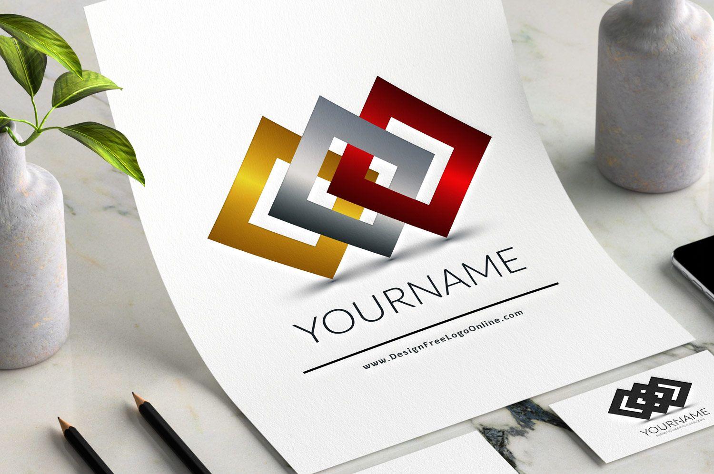 Create A Logo Free Free Logo Maker Connection Logo Template
