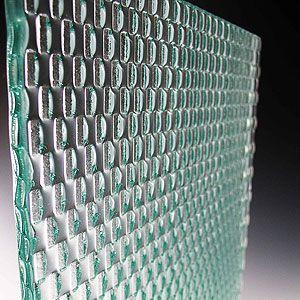 装飾ガラス/シンメトリー「バイナリ」