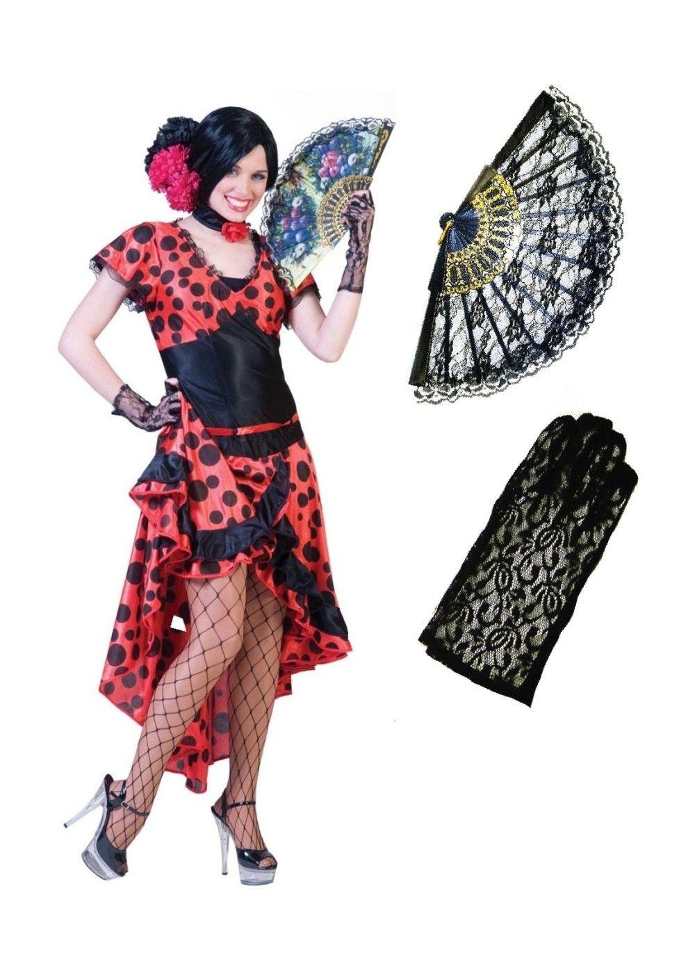 Womens Flamenco Costume Flamenco costume, Halloween