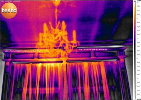 Thermographie de courant d'air en planchers par http://www.imagerie-centre.be