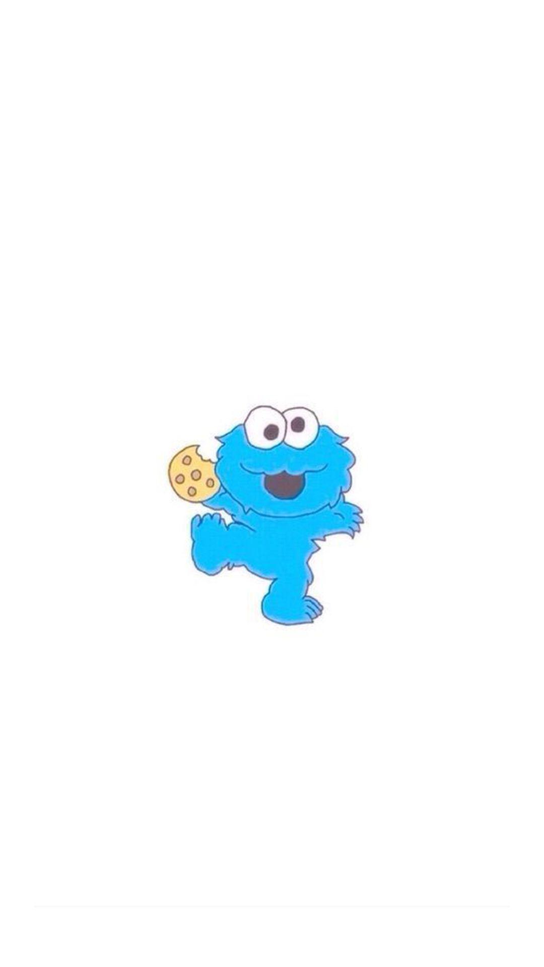 Baby Cookie Monster Iphone 6 Hd Wallpaper Cookie Monster Wallpaper Disney Phone Wallpaper Wallpaper Iphone Love