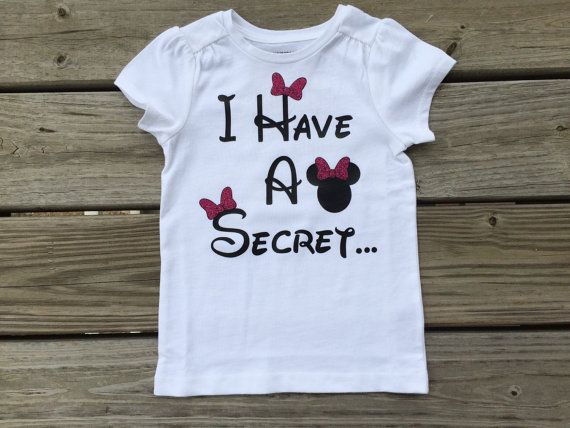 Minnie Mouse Big Sister Announcement Shirt Baby Pinterest Big