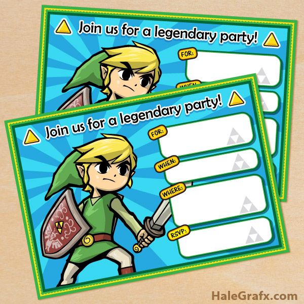 Click here to download free printable legend of zelda birthday click here to download free printable legend of zelda birthday invitations stopboris Gallery