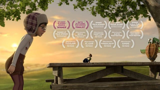 An animated short by Alyce Tzue - Soar into the sky with her ward winning imagination