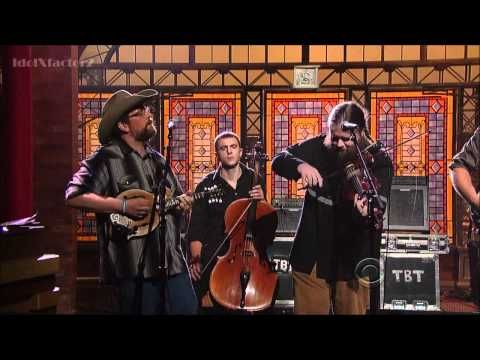 Trampled by Turtles - Alone - David Letterman  4-24-12  Fishman Loudbox Amplifiers, Rare Earth pickups and Classic pickups.