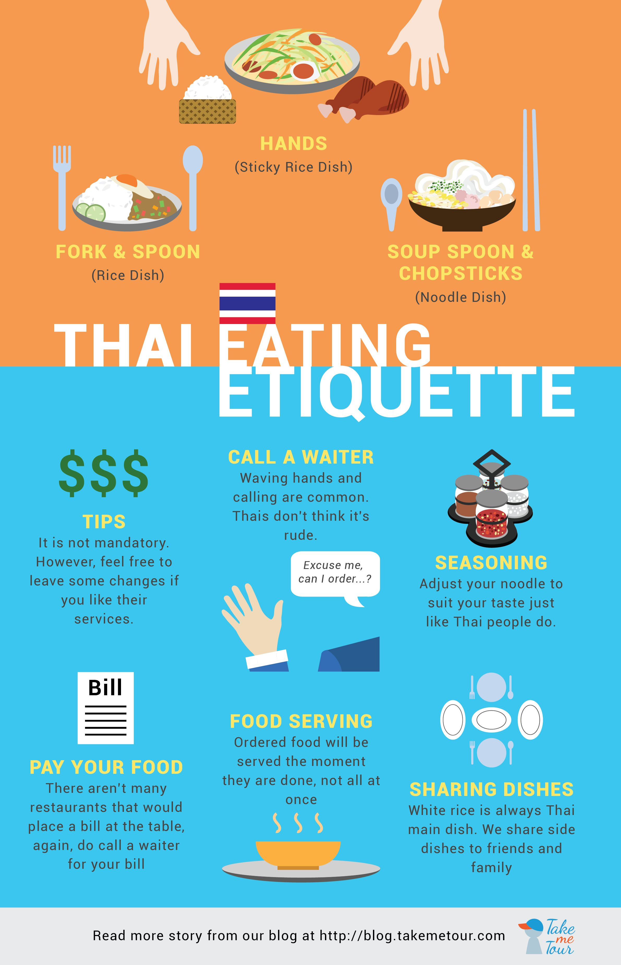 Interesting Thai Eating Etiquette Everyone Should Know