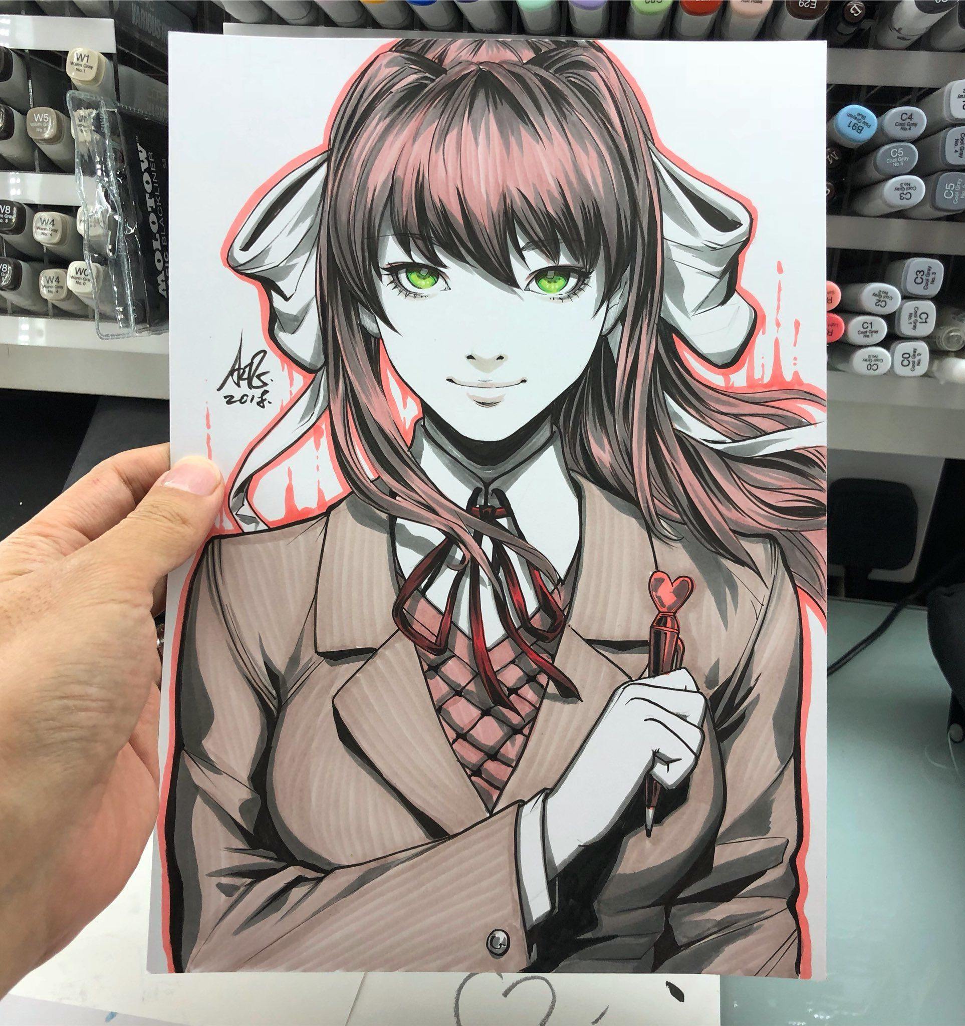Monika After Story (@MonikaAfterMod) | Twitter | artgerm in