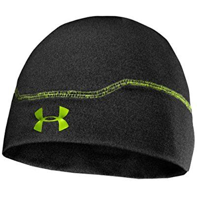 Under Armour Stealth CG Infrared Thermal Hat Men s black Asphalt  Heather Hyper Green Size  a74b41d5fbf