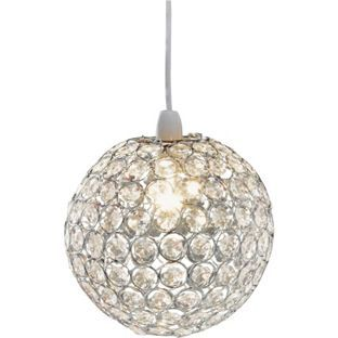 Living clear crystal globe light shade from homebase for the living clear crystal globe light shade from homebase for the hall aloadofball Gallery
