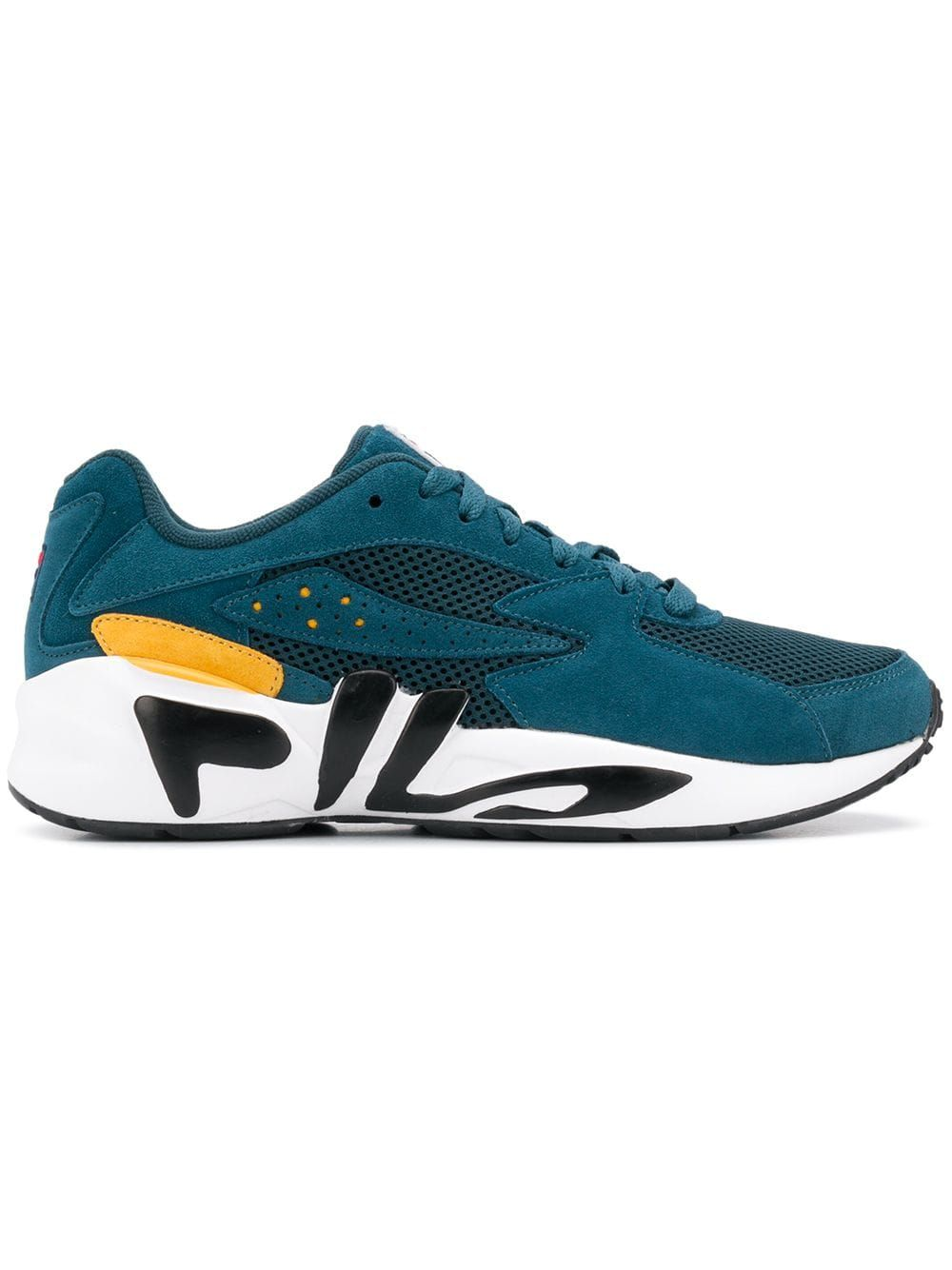 ff061193f848 FILA FILA MINDBLOWER LACE-UP SNEAKERS - BLUE.  fila  shoes