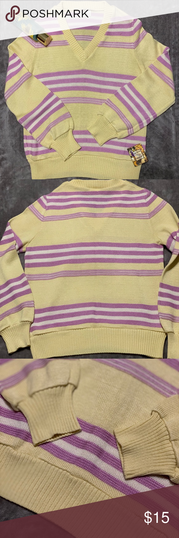 Vntg Aileen Sport V Neck Sweater Vneck Sweater Sweaters Vintage Sweaters
