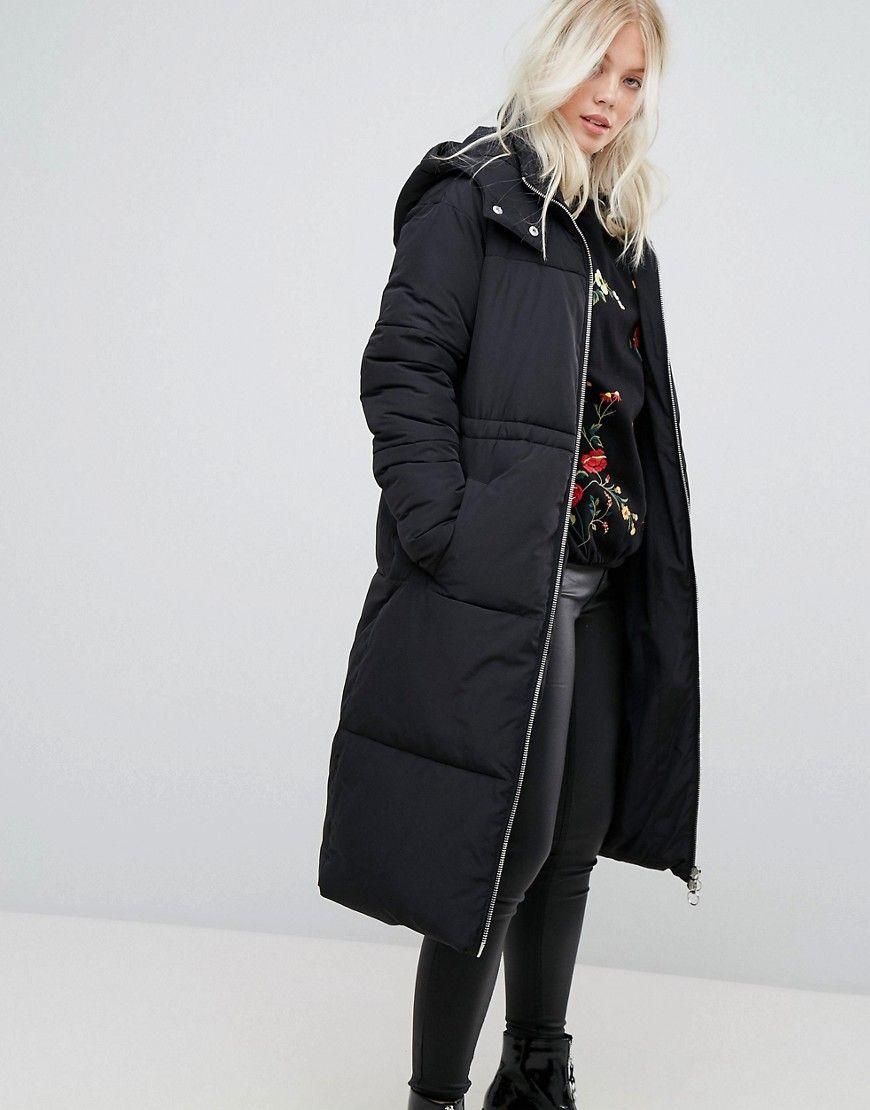Damen Bekleidung, Jacken, Übergroße Jacke, Wattierte Jacke, Lange Eine  Linie, Miss 689a192003