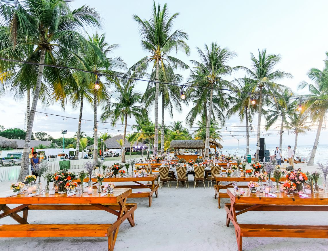 Amazing Beach Wedding In The Philippines With Images