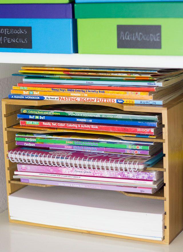 My Top 10 Easy Diy Toy Storage Ideas Coloring Book Storage Diy Toy Storage Toy Storage