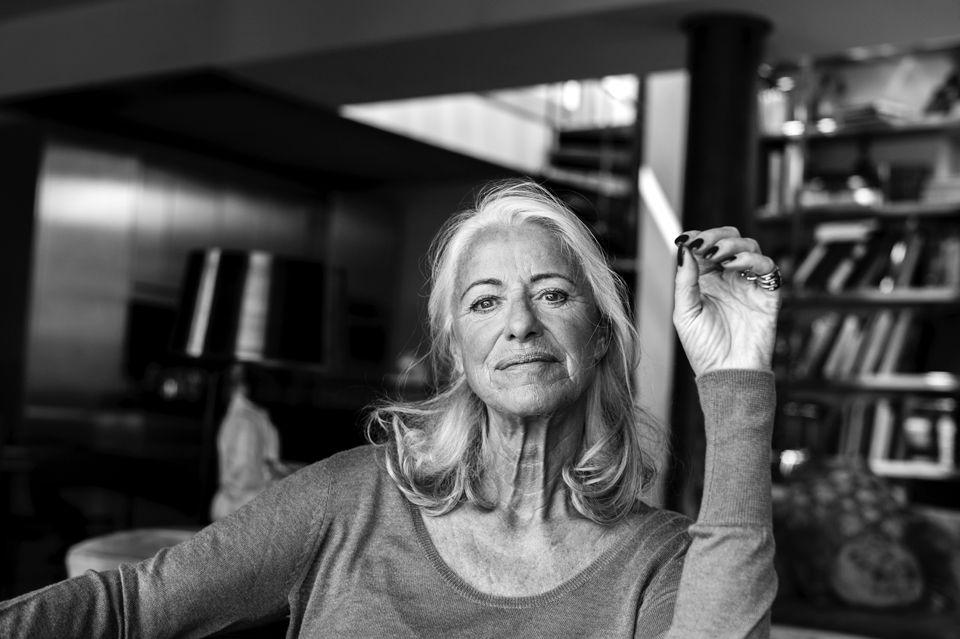 iris von arnim age 68 aka the cashmere queen an internationally acclaimed german fashion. Black Bedroom Furniture Sets. Home Design Ideas