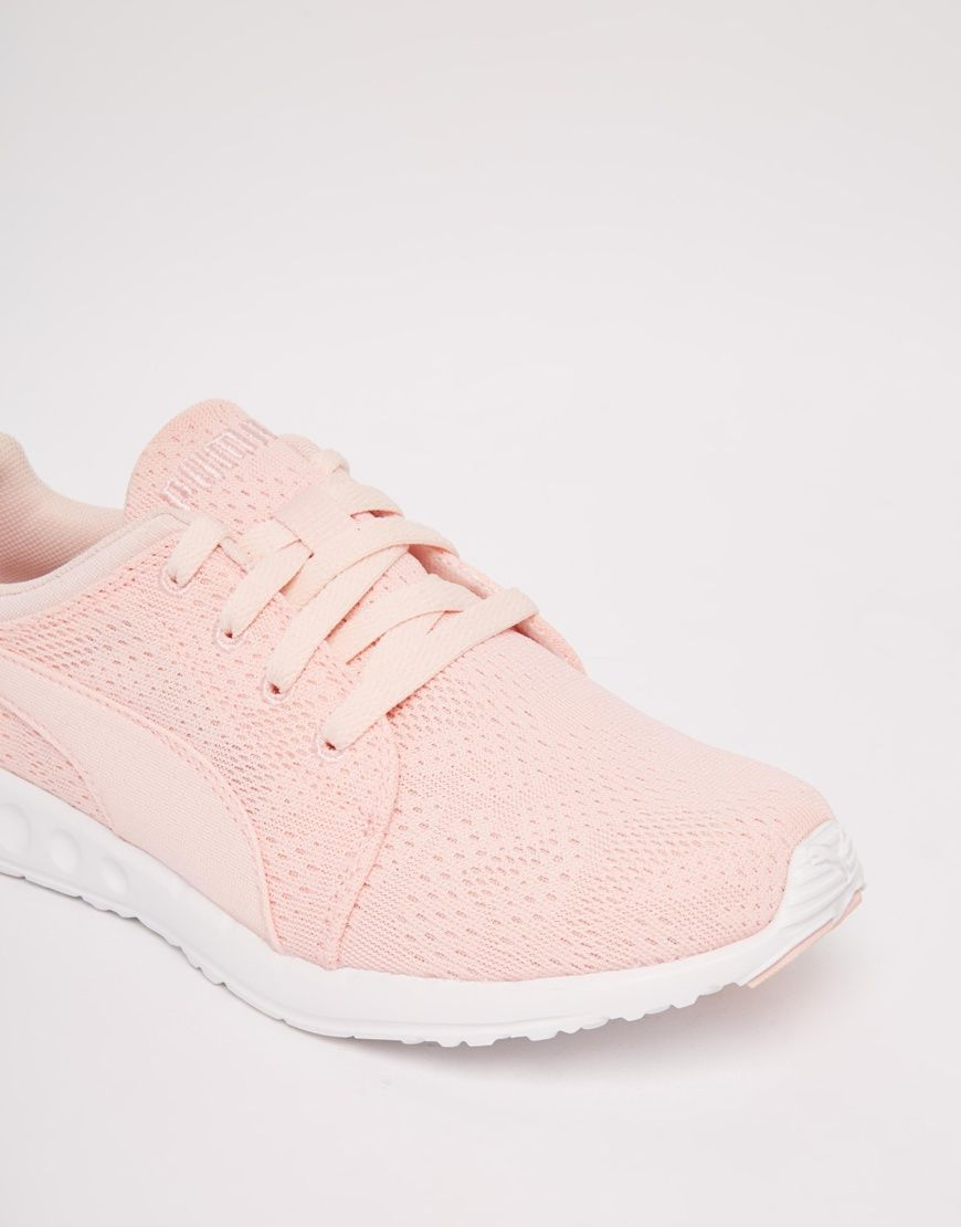 Image 4 of Puma Carson Runner Camo Mesh Pale Pink Sneakers