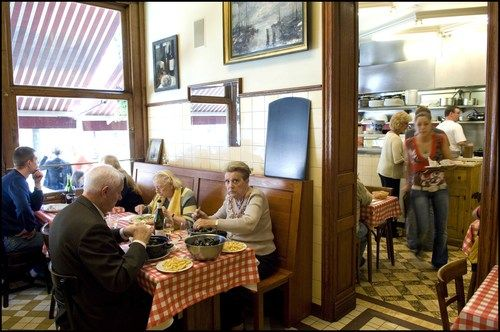 Friture René - my favorite friture in Brussels; authentic, belgian, excellent food and service