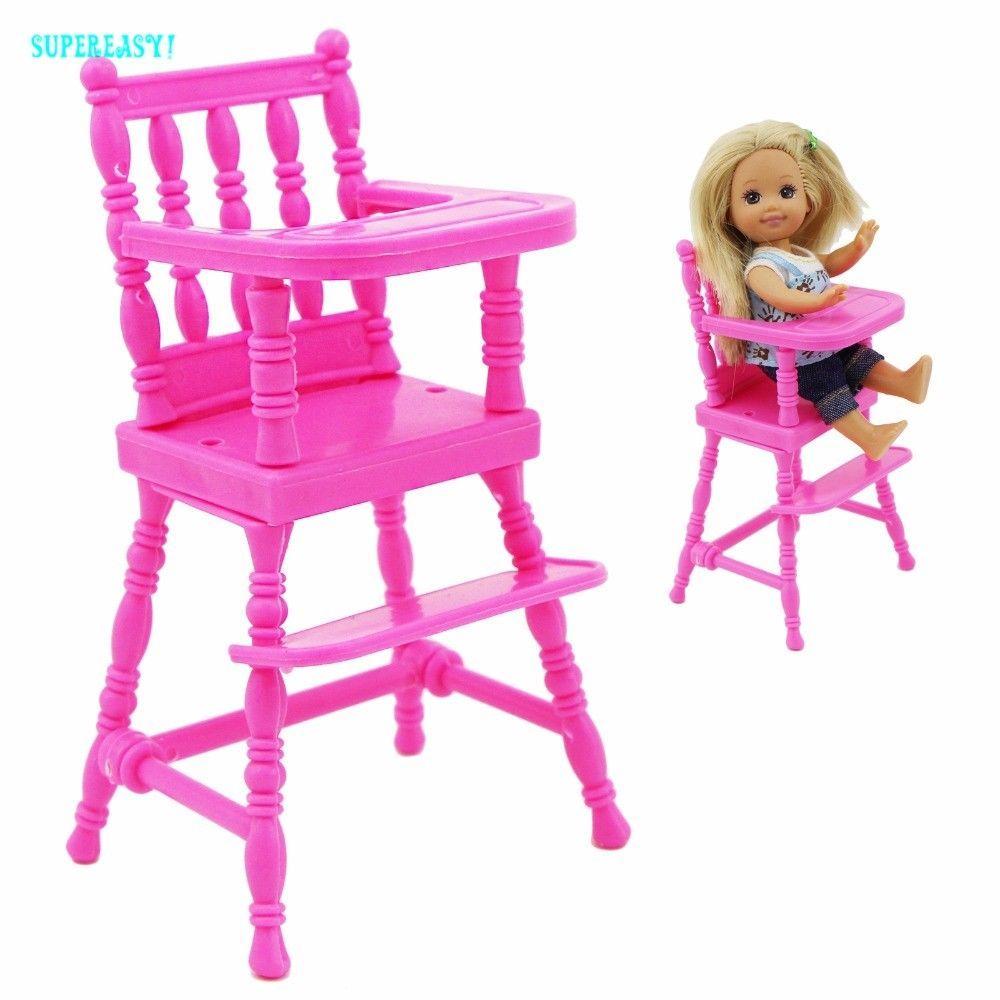 Chaise Haute Poupon Rose Pour Bebe Chaise Haute Mini Meubles 1 12 Doll Dollho Chaise Haute Poupon Chaise Haute Mobilier De Salon