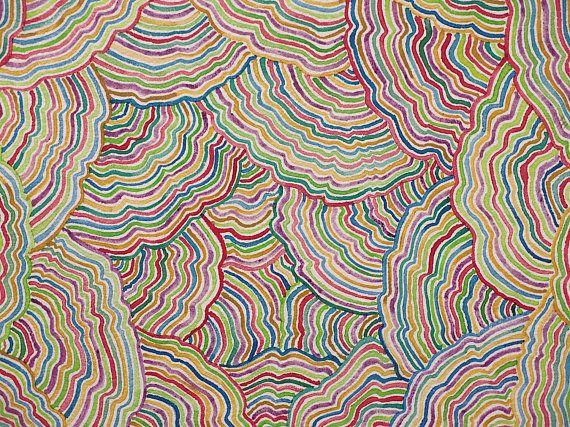 Pintura Abstracta Multicolor En Acuarela Arte Abstracto Etsy Abstracto Arte Abstracto Obras De Arte Abstracto