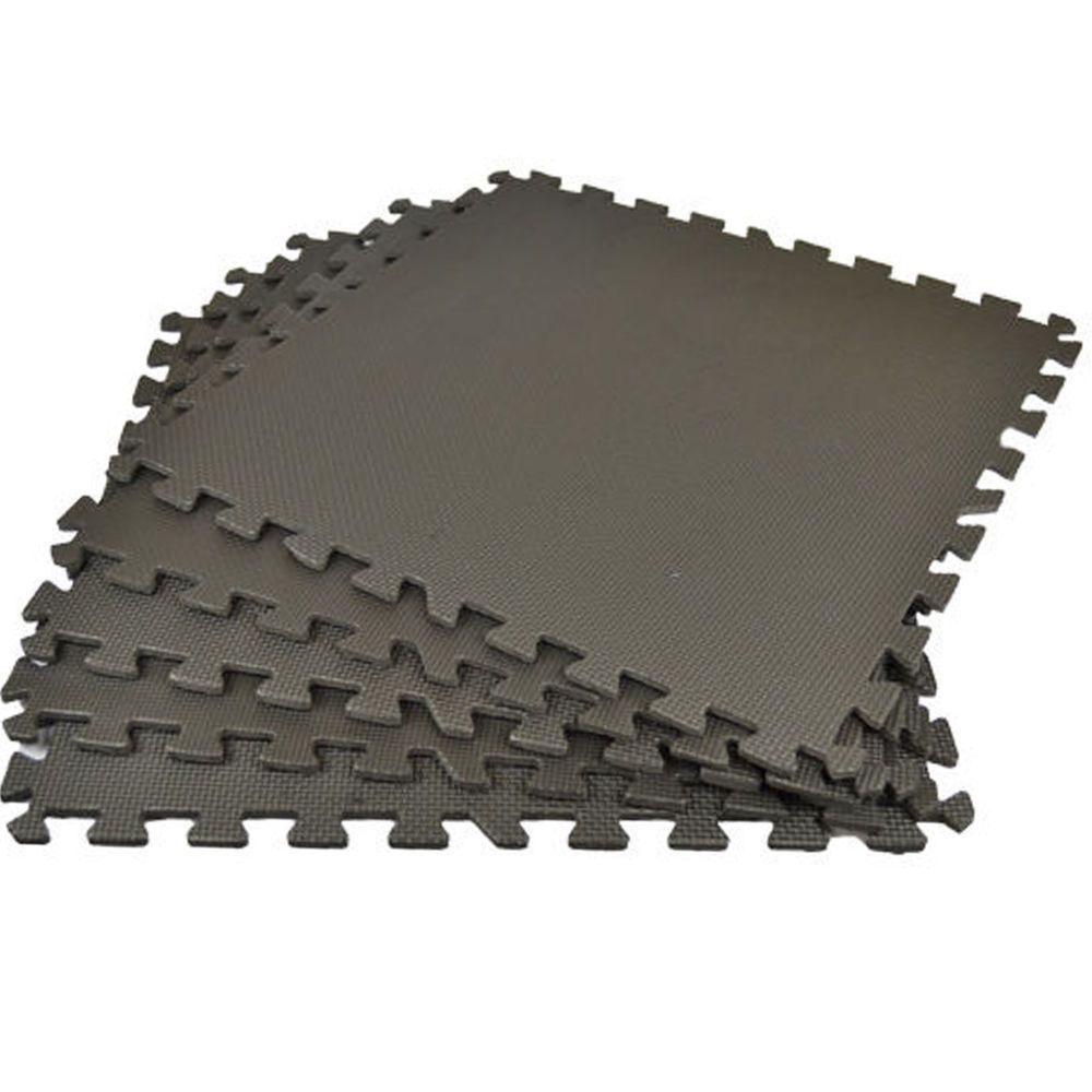 Interlocking Eva Soft Foam Floor Mats Drainage Garden Garage Tiles Play Mat Gym 8 Mats Enough Exercise Floor Mat Floor Workouts Office Mats