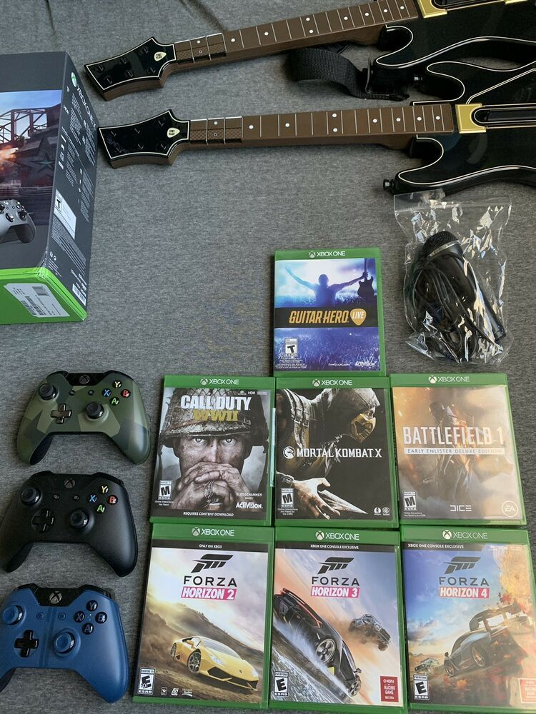 Guitar hero games for xbox one