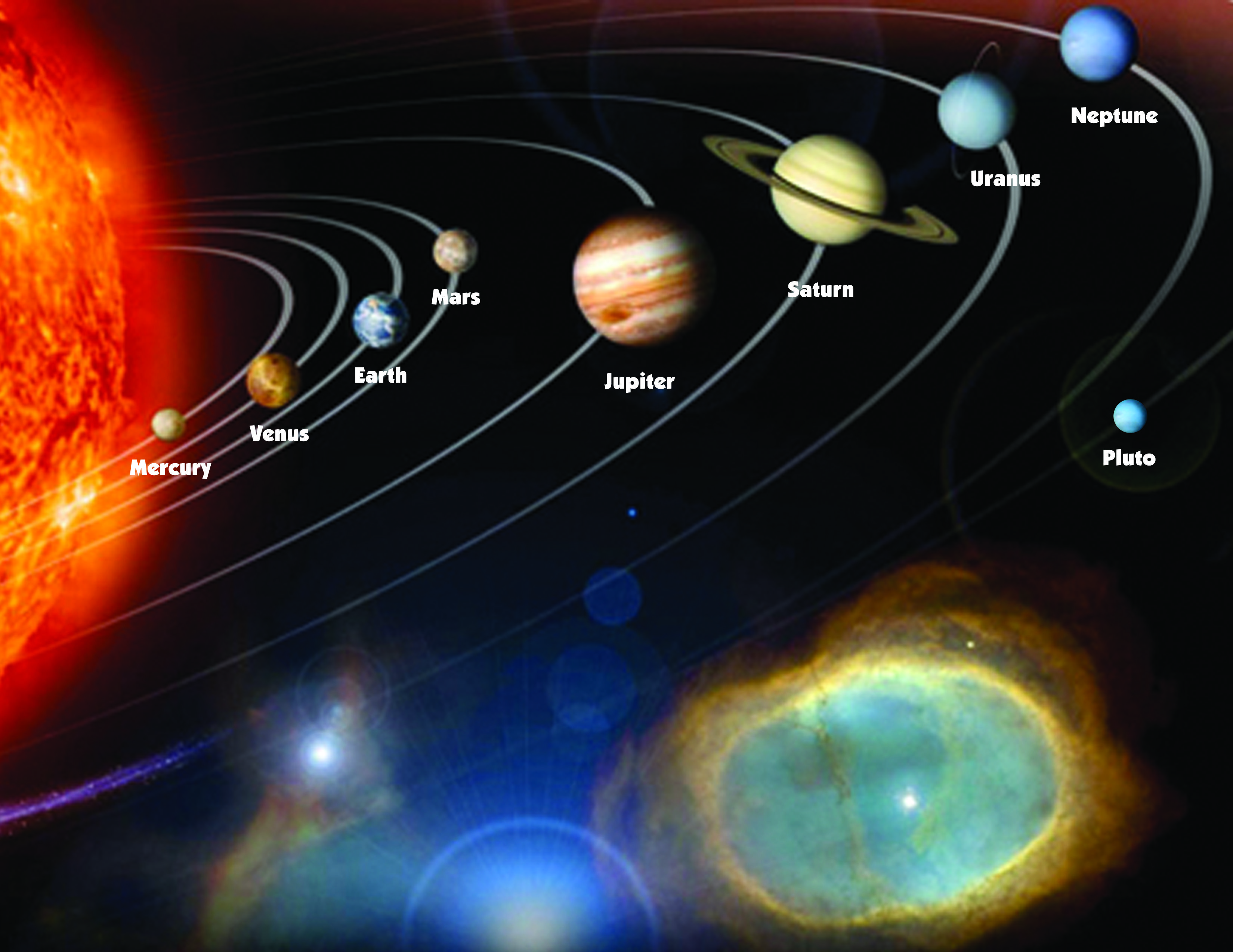 hight resolution of printable solar system diagram for the day 1 craft
