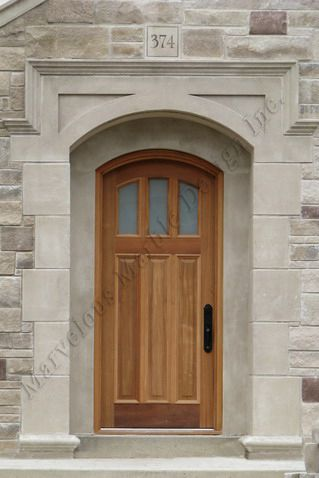 Indiana Limestone Door And Window Surrounds In Houston Texas Architecture Stone Architecture House Exterior