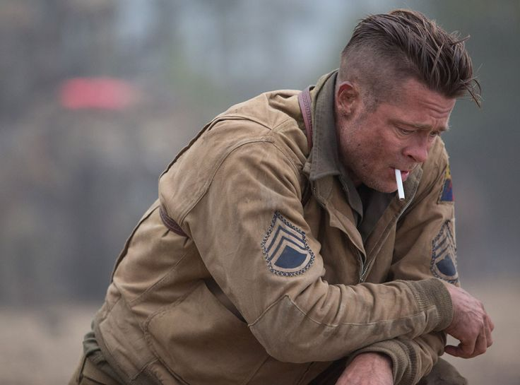 Brad Pitt From Men Of Fury Brad Pitt Fury Brad Pitt Fury