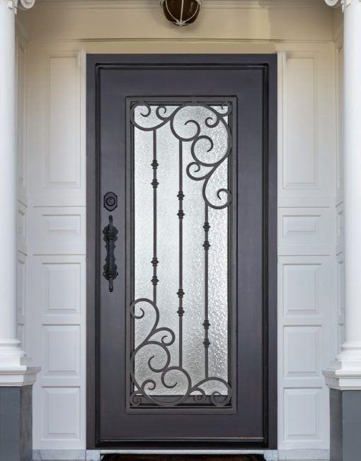 D51063 – Single Iron Door Amara